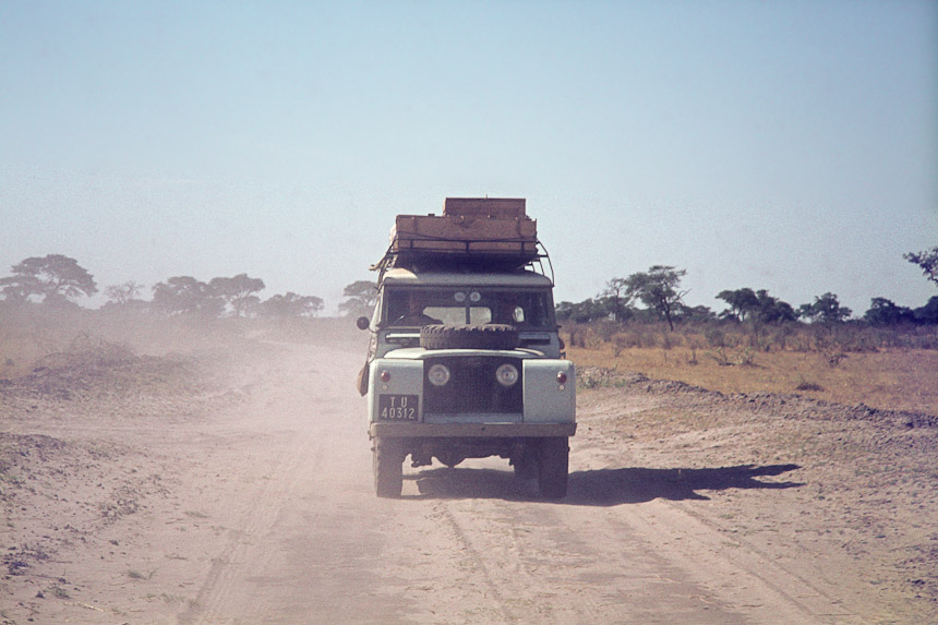Land-Rover in Chobe