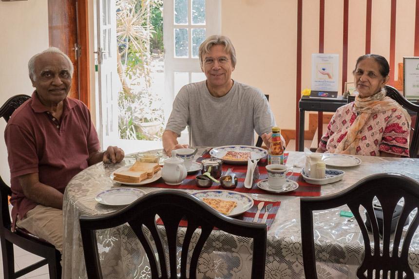 Chitra, Tilek and Bert